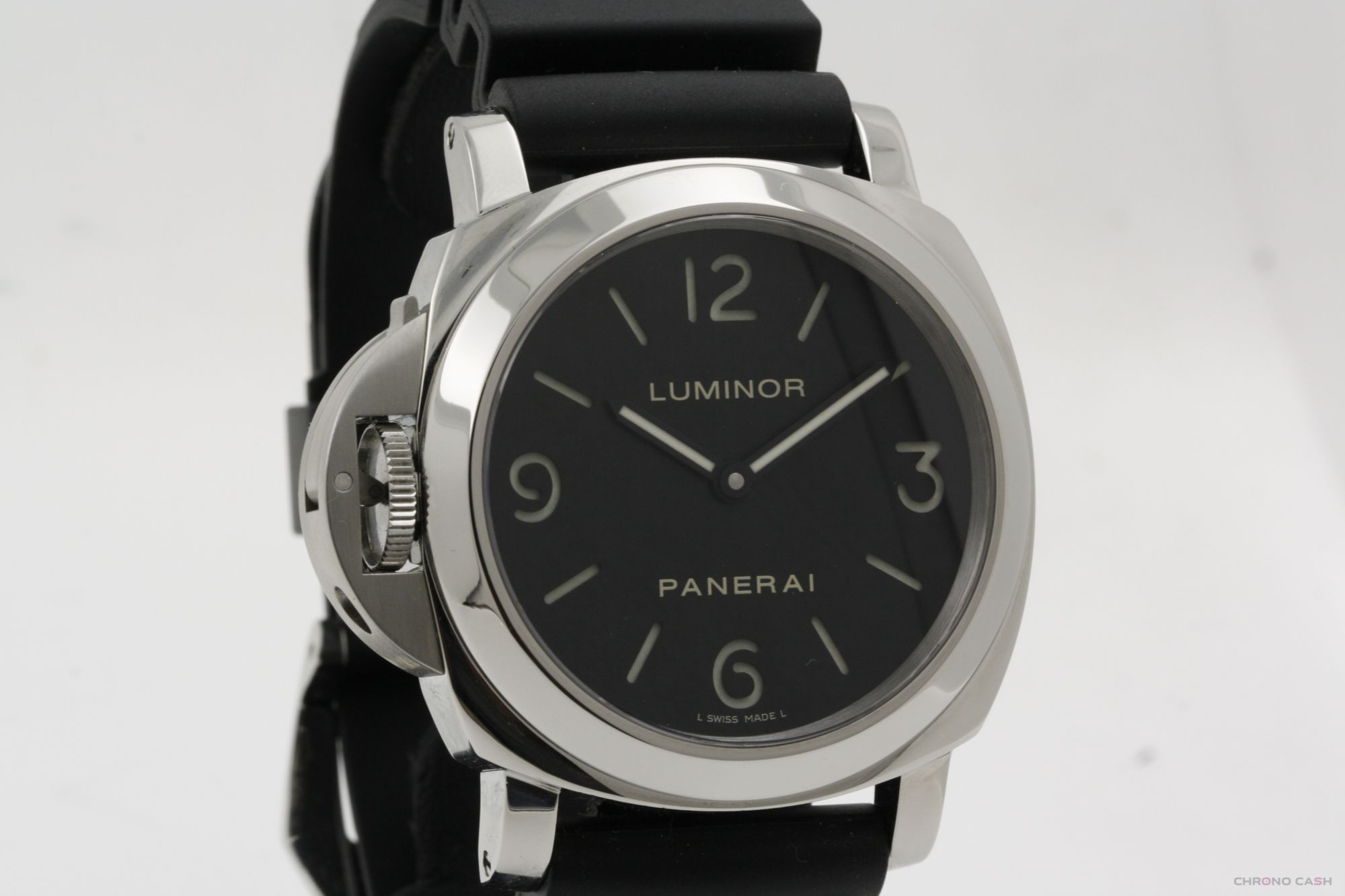 the latest 0ef1d bfbef Panerai Luminor Base PAM00219 - With Box - Left Handed ...